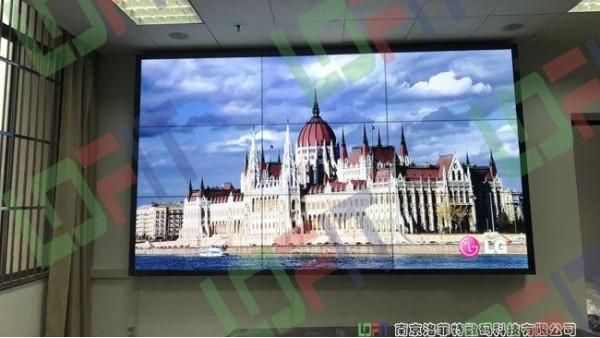 南邮通达学院液晶nba抓饭直播间屏项目顺利完工