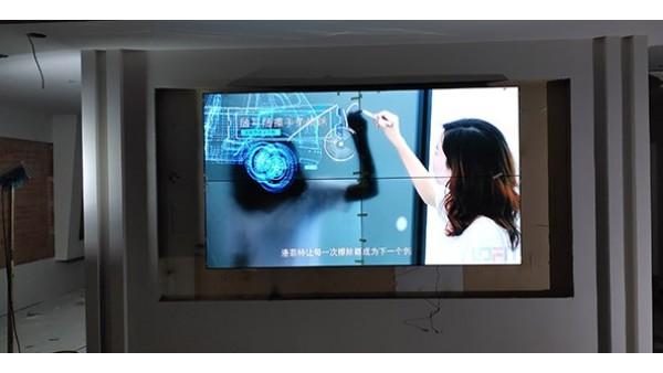 南京31605部队展厅的拼接屏
