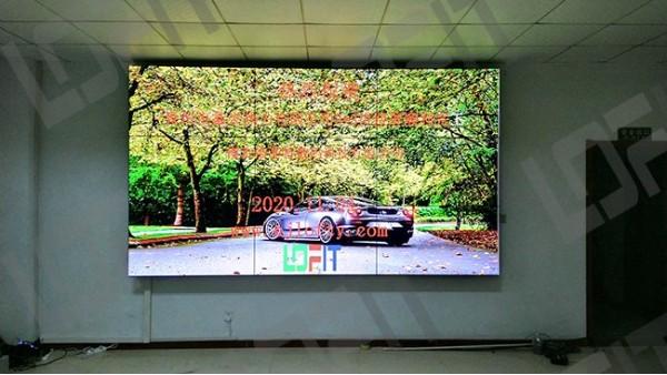 热烈祝贺山东省青州鑫泉热力有限公司拼接屏工程顺利完工