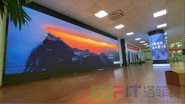 洛菲特柔性LED显示屏1