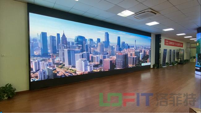 洛菲特柔性LED显示屏2
