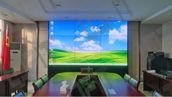 镇江公安局可视化会议室选择洛菲特拼接屏