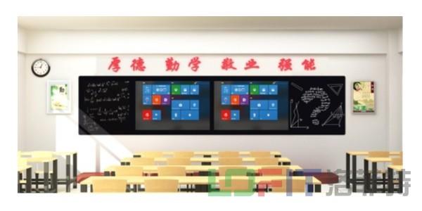 小洛带您了解教学黑板的技术特点