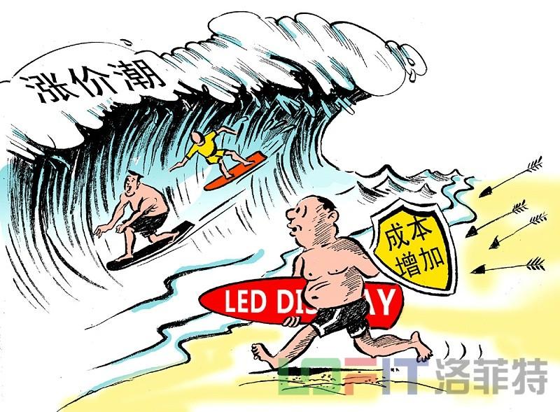 LED屏涨价